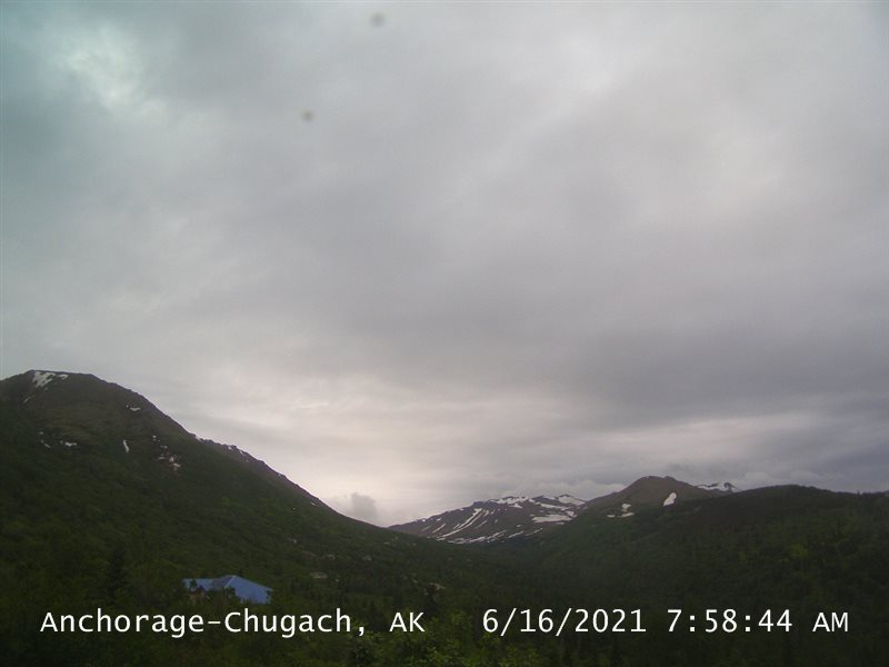 Alaska, Anchorage Live Cam – Chugach Mountains